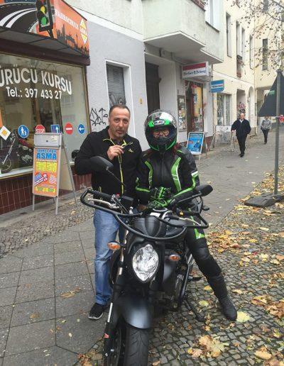 Zuverlässige Motorrad Fahrschule