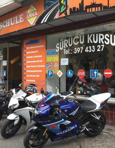 Motorrad Klassen A,A1 und A2 Ausbildung