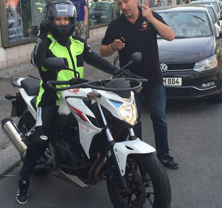 Motorrad Klasse A Führerschein Ausbildung