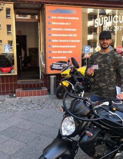 Motorrad Klasse A Ausbildung in Berlin